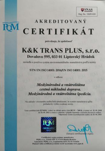 ISO 14001 SK