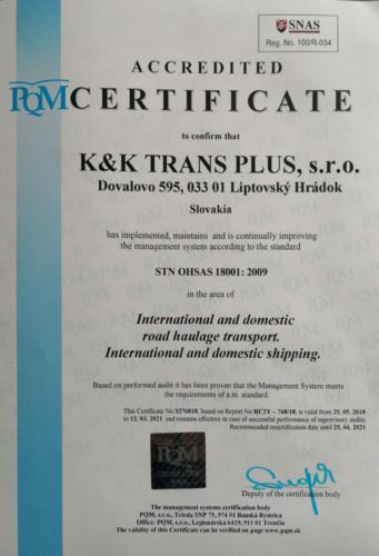 ISO 18001 EN